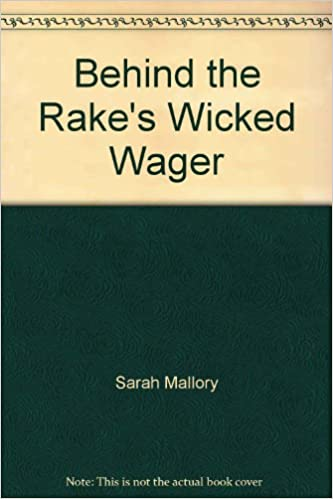 Book Behind the Rake's Wicked Wager (Mills and Boon Largeprint Historical)