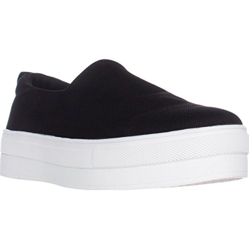 kensie Deon Slip Platform Slip Deon On Fashion Sneakers - Black B071DRVH14 Shoes a9471f
