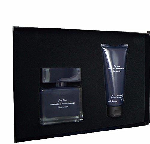 NARCISO RODRIGUEZ Bleu Noir Eau de Toilette for Him, All-Over Sower Gel, 2 Count - Noir Gel Eau De Toilette