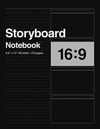 - Storyboard Notebook 16:9, 8.5