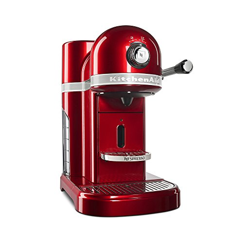 KitchenAid KES0503CA0 Candy Apple Red Nespresso Espresso Maker