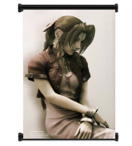 Final Fantasy VII Advent Children Aeris Fabric Wall Scroll P