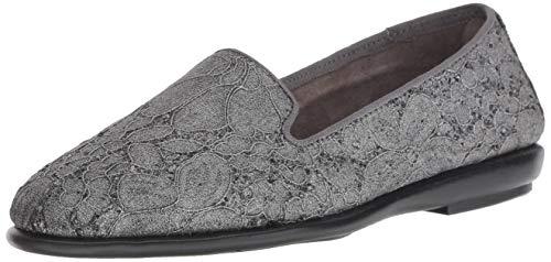 Aerosoles Women's Betunia Loafer, Silver Multi, 6.5 M US