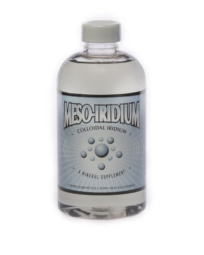 MesoIridium ™ 10 ppm Colloidal Iridium 250 mL/8.45 Oz