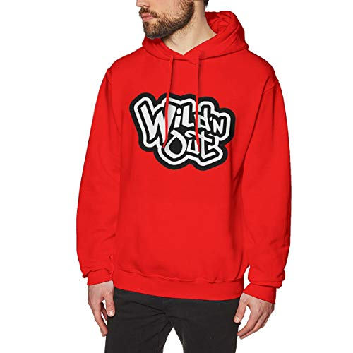 Fashion Wild 'N Out Personality Custom Casual Trend Hoodie Red