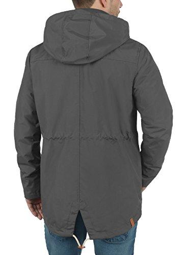 Giubotto Magee Mezza Rebel Grey Antracit Di Cappuccio Da Stagione Piumini Redefined Giacca Uomo Con B0qw5BS