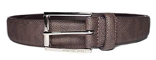 Michael Kors Mens MK Logo Brown Belt Size 34 (Michael Kors Mens Belt)