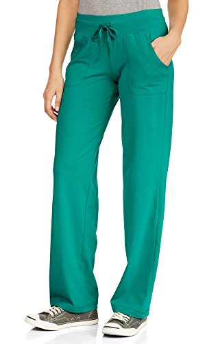 (Danskin Now Women's Knit Lounge Pant Green 4XL)