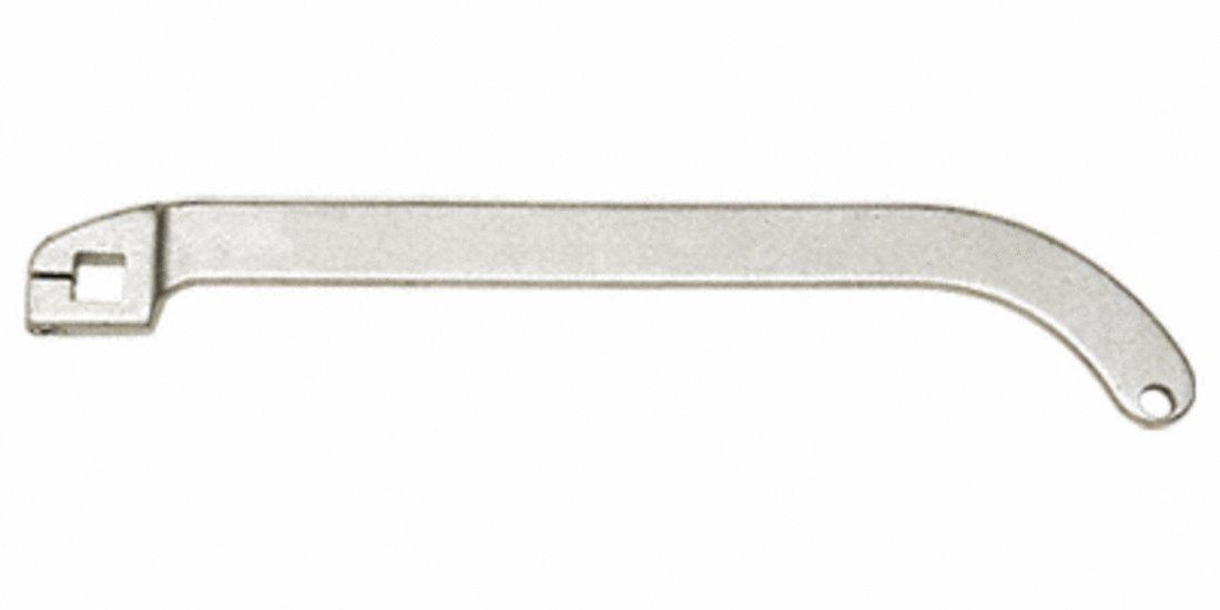CRL Jackson Satin Aluminum Offset Arm by CR Laurence
