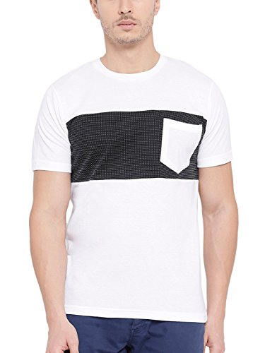 TSX Men's Solid Regular Fit T Shirt