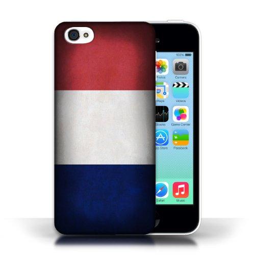 Etui / Coque pour Apple iPhone 5C / France/français conception / Collection de Drapeau