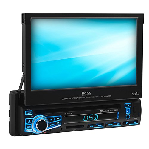 BOSS Audio Systems Elite BV860B Car DVD Player - Single Din