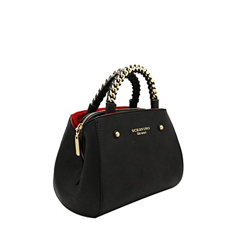9514809f81 Borsa Scervino Street Divya Donna Nero - scbpu0000483001: Amazon.it ...
