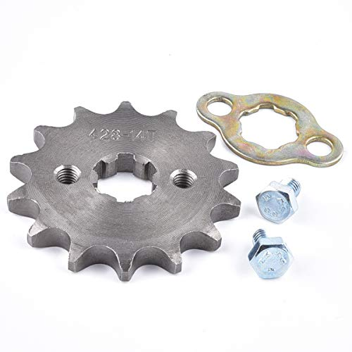 428 14T 17mm Front Engine Sprocket For 50cc 70cc 110cc 125cc 140cc 160cc ATV Dirt Bike Quad TaoTao Roketa Sunl
