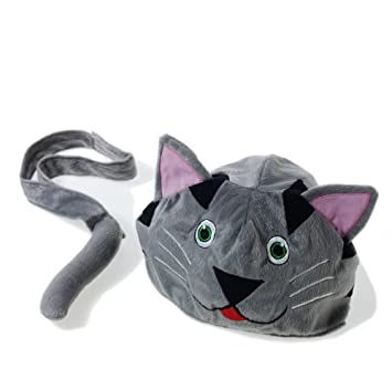 Childrens Fancy Dress / Dressing Up Cat Costume / Hat and Tail. Adjustable Fit from  sc 1 st  Amazon UK & Childrens Fancy Dress / Dressing Up Cat Costume / Hat and Tail ...