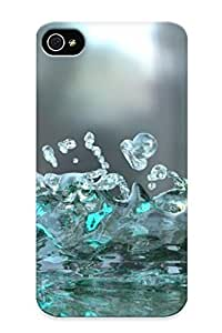 Hot Snap-on Splash Water Photography Hard Cover Case/ Protective Case For Iphone 5C