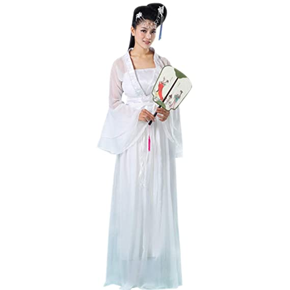 Femme Chinoise Hanfu Ancien Bozevon Robe Traditionnel L4ARj5