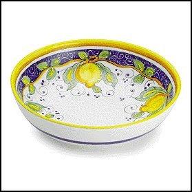 Arte Du0027Italia Imports Hand Painted Alcantara Serving Bowl - Handmade in Deruta  sc 1 st  Amazon.com & Amazon.com   Arte Du0027Italia Imports Hand Painted Alcantara Serving ...