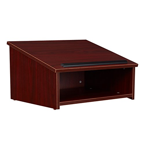 Oklahoma Sound 22-MY Table Top Lectern, Mahogany by Oklahoma Sound