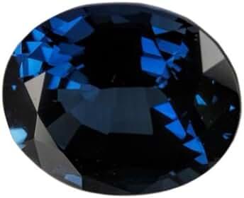 Blue Lab Sapphire Unset Loose Gem Oval 11mm