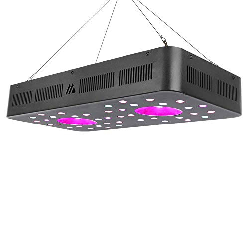 Dimgogo 1200w Led Grow Light, Full Spectrum Plant Growing Lights with Three Switch for Indoor Plants, Hydroponic&Greenhouse, Veg and Flower Seed Starting