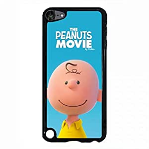 Ipod Touch 5th Generation the peanuts movie phone case 100 Snoopy and Charlie Brown phone case black cellphone case for Ipod Touch 5th Generation