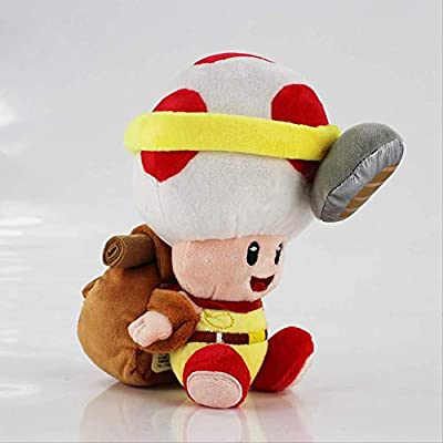 hjcly Peluche Super Mario Bros Sapo Hongo 18Cm, Peluche ...