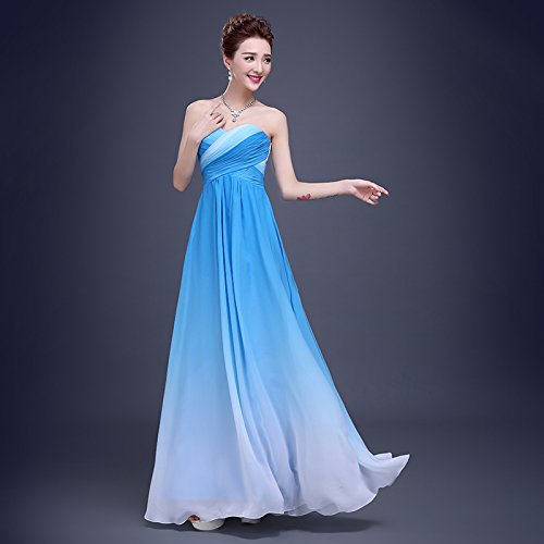 da A models sposa Donna Abito PLAER blue Aa5qTT
