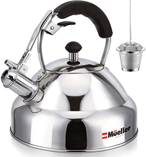 Stove Top Whistling Tea Kettle - Only Cu