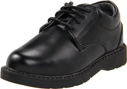 School Issue Scholar 5200 Uniform Shoe (Toddler/Little Kid/Big Kid),Black Leather,13 M US Little Kid by School Issue
