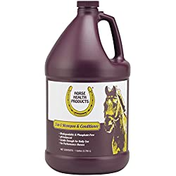 Horse Health 2-in-1 Shampoo & Conditioner, 1 gallon