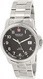 Police.  6-5231.04.007 - Reloj de cuarzo para hombre, con correa de acero inoxidable, color plateado