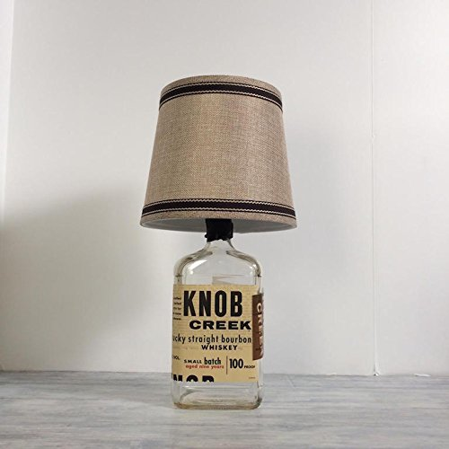 Liquor Bottle Lamp, Knob Creek Lamp, Man Cave, Knob Creek Gft, Bar