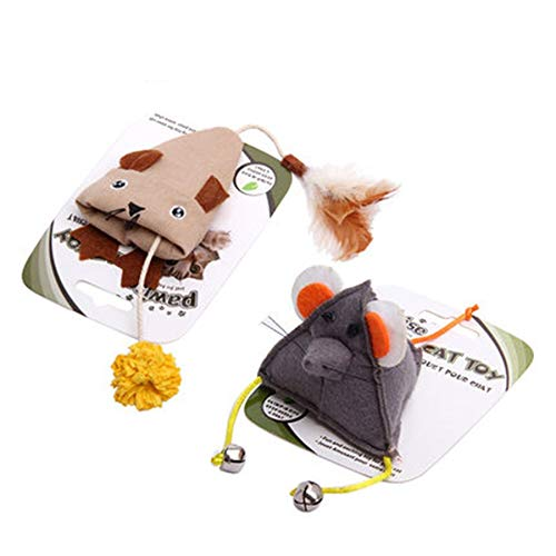 Amazon.com : HBK Pet Cats Toy Mouse Claws Grinding Canvas Interactive Products Kitten Play Pet Shop Game Gatos Fun Cats Toy Cute Durable QQM2124 : Pet ...