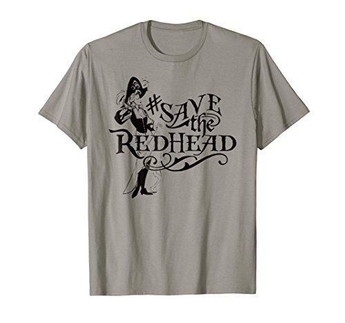 #Save the Redhead Caribbean Pirate Shirt