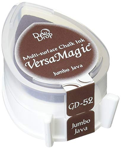 Tsukineko VersaMagic Dew Drop Inkpad of All Kinds, Jumbo Java