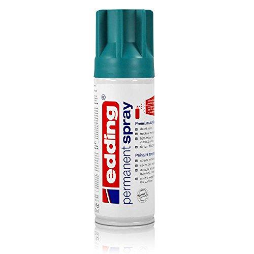 edding® permanent spray, seidenmatt Petrol