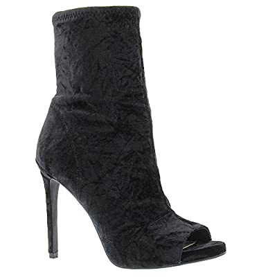 Jessica Simpson Rainer Women's Boot 8.5 B(M) US Black-Velvet