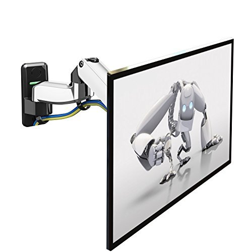 """Price comparison product image NB AV Mount F150 Universal Full Motion Articulating Gas-Strut Flexi TV / Computer Monitor Wall mount for 17"""" - 27"""" LED LCD Flat Panel Screens up to 15 lbs"""