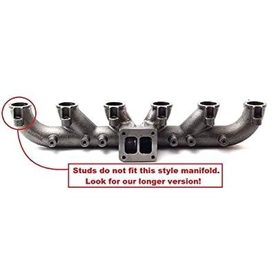 Stainless Exhaust Manifold Stud Kit for 1989-2020 5.9l & 6.7l Cummins Turbo Diesel: Automotive
