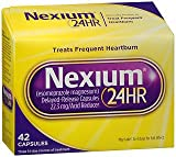 Nexium 24HR Capsules 42 ea (Pack of 4)