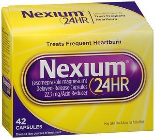 Nexium 24HR Capsules 42 ea (Pack of 4)