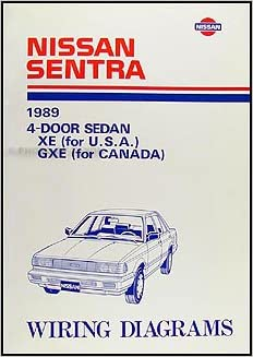1989 nissan sentra wiring diagram manual original: nissan: amazon com: books