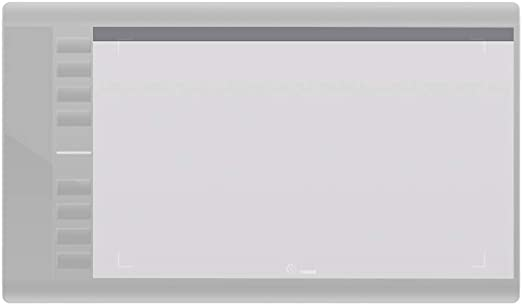 Tickas 1ピース透明保護フィルム表面プロテクター用10 * 6インチM708グラフィックス描画タブレットボード