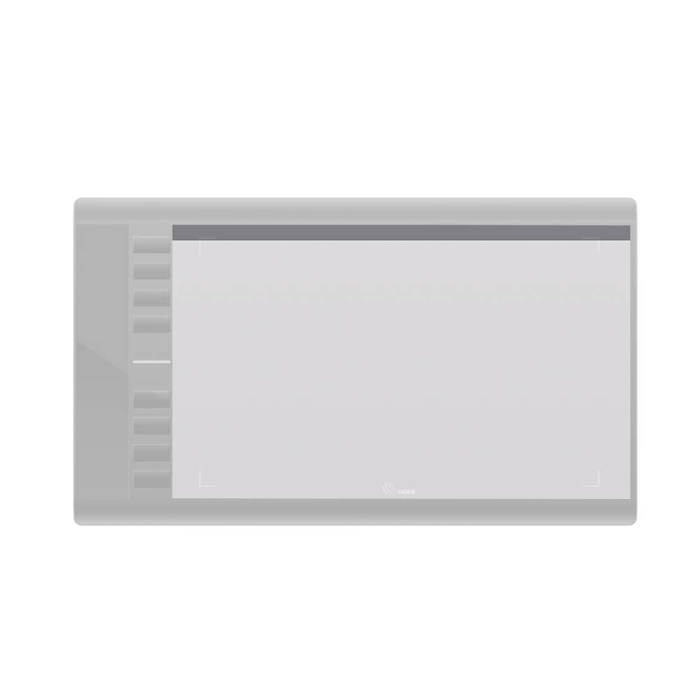 Ugee 1 x Displayschutzfolie f/ür Tablet Grafik M708 mit 10 x 6 Zoll