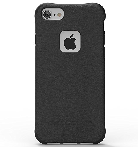 N Urbanite Select Case for Apple iPhone 8/7/6s/6 - Black Leather - Not Compatible with iPhone Plus 5.5-Inch Screen Size Smartphones ()