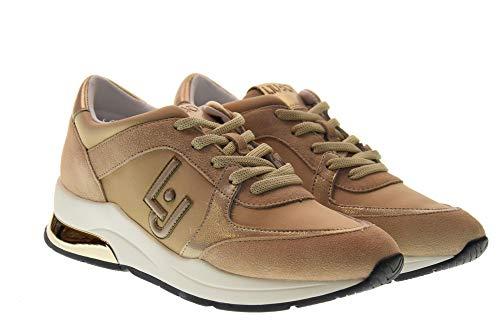 Zapatos 12 Karlie Liu B19007 Beige Bajas Mujer Tx031 Zapatillas Cuña Con Jo gnn5TqxZ