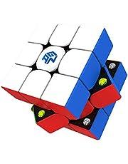 GAN 356 M, 3x3 Magnetisch Snelheid Kubus Stickerless 356M Magische Kubus (Lite ver. 2020)