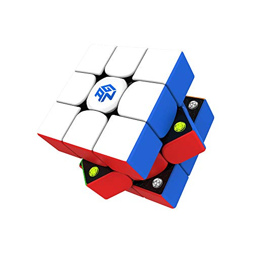GAN 356 M, 3x3 Magnetic Speed Cube Stickerless Gans 356M Magic Cube (Lite ver. 2020)