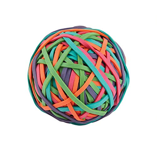 Office Depot Brand Rubber Band Ball, Multicolor ()